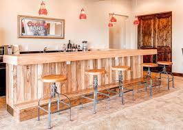 E Rustic Basement Bar Ideas