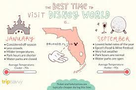 Disney World Size Chart The Best Time To Visit Disney World