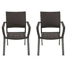 Black and white patio furniture Striped Barrington Square Stacking Wicker Chairs set Of 2 Bed Bath Beyond Patio Chairs Benches Plastic Chairs Folding Patio Chairs Bed