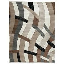 signature design by contemporary area rugs brown medium rug 5x8 designer contemporary area rug