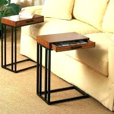 fancy side table under sofa couch tray cool with inspirations 19 cool couch79 couch