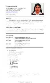 ojt resume. New Resume Sample For Ojt Hotel And Restaurant Management Amusing