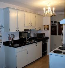 galley kitchen after low budget american traditional kitchen