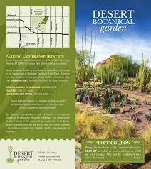 garden rack card brochure garden admissions