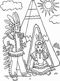 Indian Coloring Pages Fresh Native American Coloring Page Indian