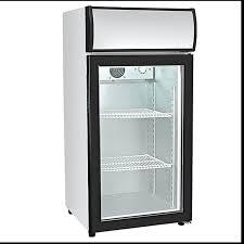 commercial glass door countertop fridge