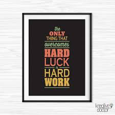 inspirational wall art for office. Work Hard Quote Office Wall Art Motivational Decor Inspirational For S