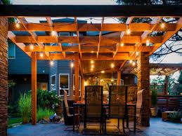 pergola lighting ideas. Best Outdoor Patio Pergola Lighting Ideas High Table And Chairs E