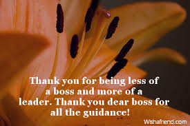 Thank You Notes To Boss Gorgeous Thank You Notes For Boss