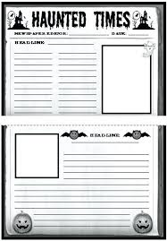 Kids Newspaper Template Kids Newspaper Template Printable For Students Shopsapphire