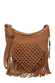 image of the sak ore leather hobo bag