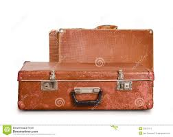 Old Suitcases Two Old Suitcases Stock Image Image 34217111