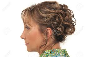 Hair Style For Older Women beautiful hairstyle for a party or wedding for older women stock 8355 by wearticles.com