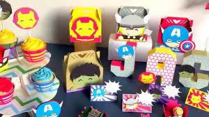 Avengers Party Decorations Avengers Birthday Party Decorations Youtube