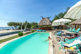 The Infinity Pool at the Le Pirate Beach Club Gili T Hotel Oystercom
