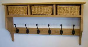Coat Rack With Baskets Basket shelves Shaker Peg Rails Country Shaker 30