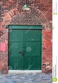 Old Warehouse Door stock image. Image of entrance, city - 10261297