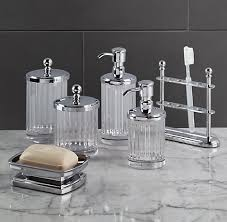 glass bathroom accessories. + More Finishes Glass Bathroom Accessories T