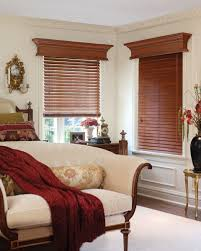 Wood Window Treatments Ideas Window Treatment Ideas With Wood Blinds Window Decorating Ideas With