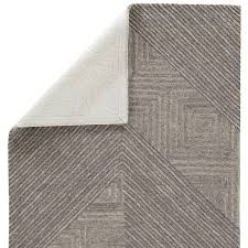 demonte charcoal gray area rug hand tufted wool sky