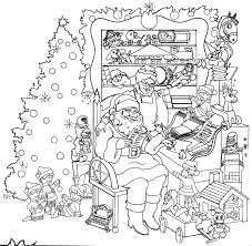 Small Picture Printable Christmas Coloring Pages For Adults My Free Inside