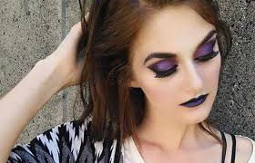 violet eyeshadow makeup for brown eyes pinit