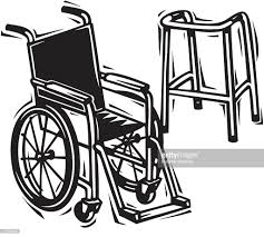 Clip Art Wheelchair And Walker Cliparts