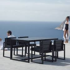 modern outdoor dining furniture. Gandia Blasco Mesa Alta Saler Modern Outdoor Dining Table Modern Outdoor Dining Furniture N