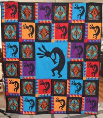 Kokopelli | Seasonal Series | England Design Studios & Look at this beautiful quilt that Deanna Keller created with our Kokopelli  pattern! Adamdwight.com