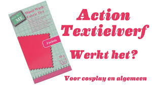 Action Textielverf Werkt Het Voor Cosplay En Algemeen