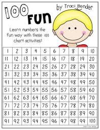 100 Fun 100 Chart Coloring Activities