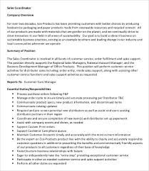 Marketing Coordinator Job Description Delectable 48 Coordinator Job Description Templates PDF DOC Free
