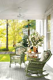 Wonderful Furniture For Porch Charming Tennessee Mountain Cottage Wicker Furniturecottage Intended Decorating