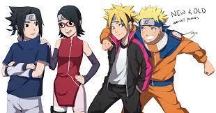 my fan art of New meeting Old Generation! | Naruto sasuke sakura, Naruto  shippuden anime, Boruto