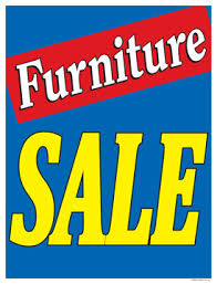 furniture sale sign. Sale Signs Posters Furniture Blue Sign T