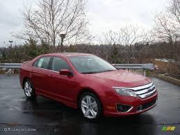 2010 Sangria Red Metallic Ford Fusion Sport AWD #22294842 ...