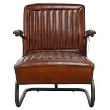 aviator vintage leather chair brick city loft inside inspirations 7 amusing vintage leather armchair uk