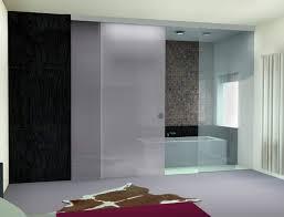 frameless bathroom sliding glass doors design ideas