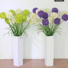 DINING ROOM DESIGN Interesting Artificial Flowers With Unique Artificial Flower Decoration For Home