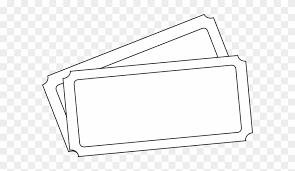 Draw Tickets Template Ticket Template Clip Art Draw A Concert Ticket Free Transparent