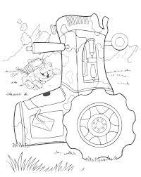 Cricchetto E Il Trattore Cars Motori Ruggenti Disegni Da Colorare