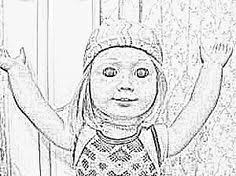 Small Picture American Girl Doll Coloring Pages Art Pinterest Girl dolls
