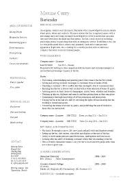 Catering Server Resume Awesome Resume Examples Restaurant Fast Food Server Resume Example Resume