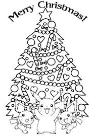 Small Picture Pokemon Christmas Coloring Pages Learn To Coloring