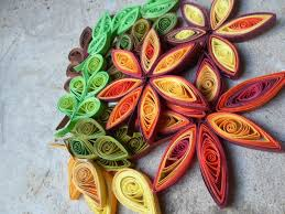 Quilling Home Decor Leaves Wall Art Paper Wall Hanging Fall Autumn Home Decor