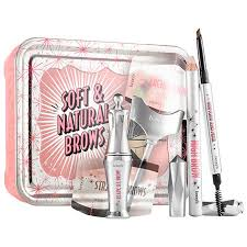 details about benefit cosmetics soft and natural brow kit 06 deep nib