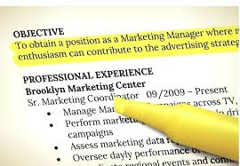 Effective Career Objective For Resumes Effective Resume Objective Resume Pro
