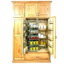 Wood Pantry Cabinet Solid Storage Cabinets  Food46