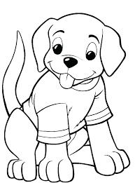 Dog Coloring Picture Jordanschleiderinfo