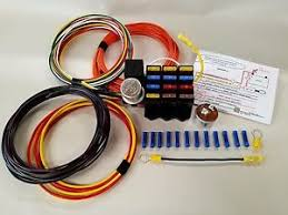 universal 12 circuit wire harness for 4x4 hot rod or rat rod image is loading universal 12 circuit wire harness for 4x4 hot